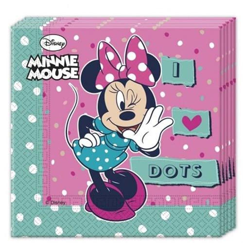Pandoli Minnie Dots 20 Li Kağıt Peçete 33X33 Cm