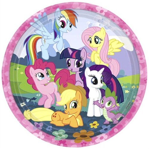Pandoli My Little Pony Sparkle 23 Cm 8 Adet Tabak