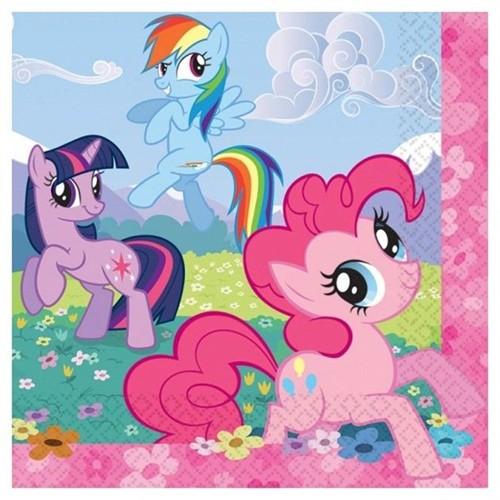 Pandoli My Little Pony Sparkle 33X33 Cm 16 Adet Peçete