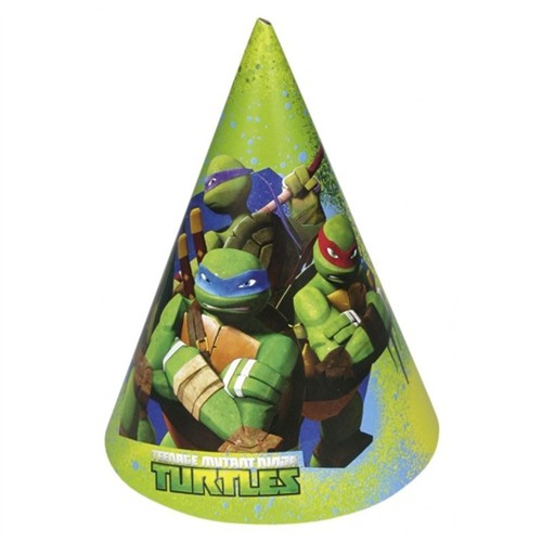 Pandoli Ninja Kaplumbağalar Külah Şapka 6 Lı