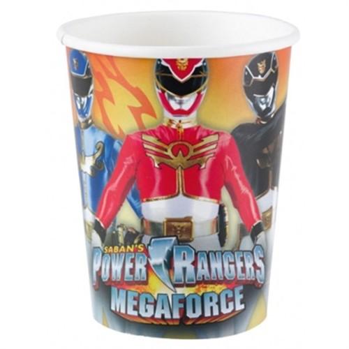 Pandoli Power Rangers Bardak 8 Adet