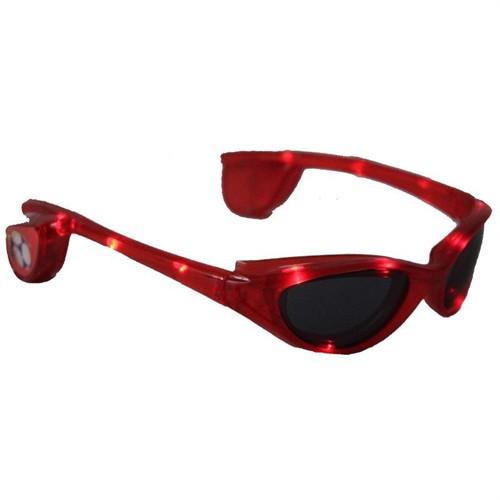 Pandoli Kırmızı Işıklı Parti Gözlüğü