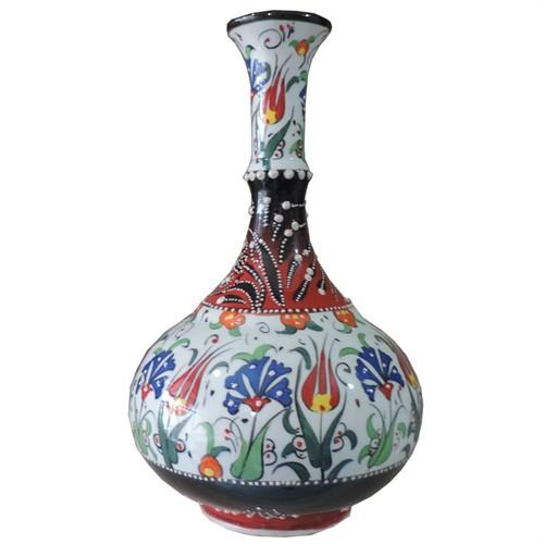 Bk 30Cm Gözyaşı Renkli Vazo