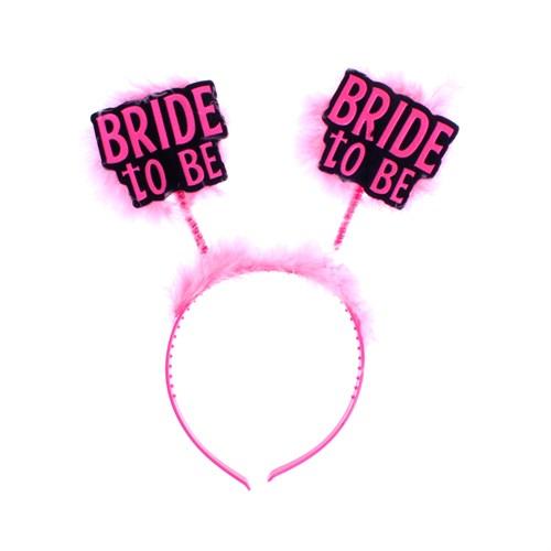 KullanAtMarket Bride To Be Pembe Parti Taç 1 Adet