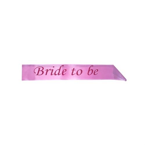 KullanAtMarket Bride To Be Pembe Kusak 1 Adet