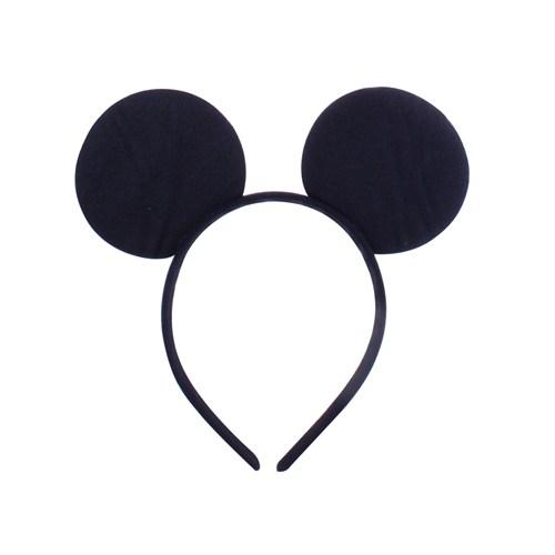 KullanAtMarket Siyah Mickey Parti Taç 1 Adet