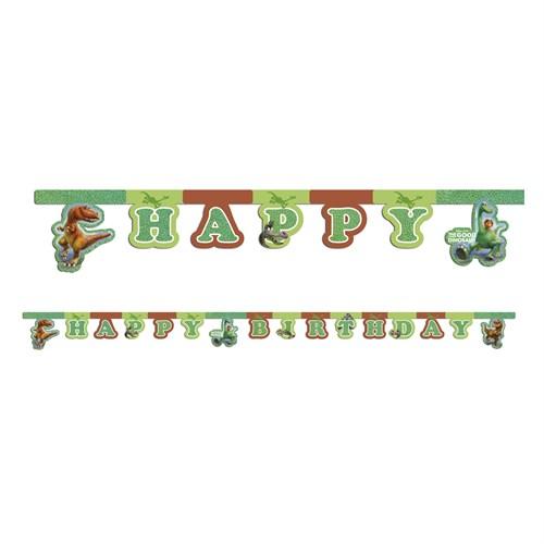KullanAtMarket The Good Dinosaur Happy Birthday Harf Afiş 1 Adet