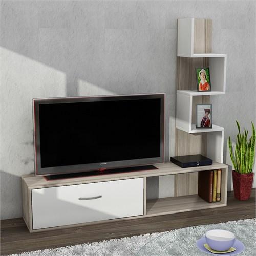 Dekorister Akay Tv Ünitesi Cordoba/Beyaz
