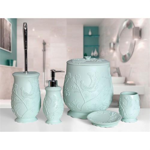 Arya Banyo Aksesuarları Mint, Aksesuar Set 5 Parça