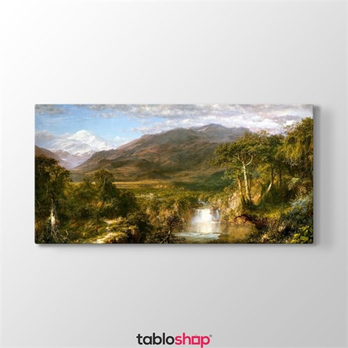 Tabloshop Frederic Edwin Church - Heart Of The Andes Tablosu
