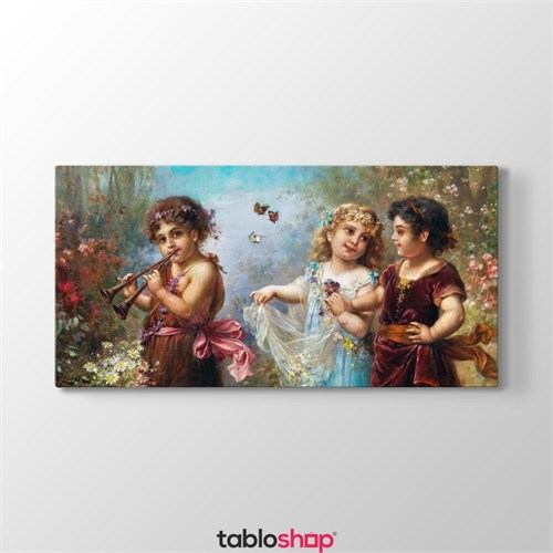 Tabloshop Hans Zatzka - The Spring Of Life Tablosu