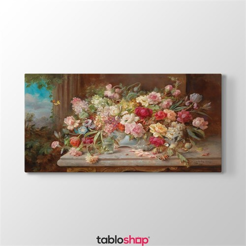 Tabloshop Hans Zatzka - Spring Flowers Tablosu