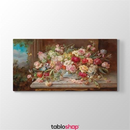 Tabloshop Hans Zatzka - Spring Flowers Tablosu