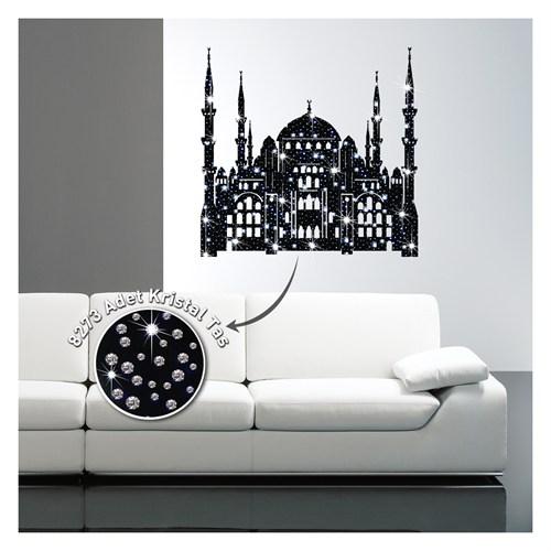 Artikel Sultan Ahmet Cami Kadife Duvar Sticker 8273 Adet Kristal Taşlı