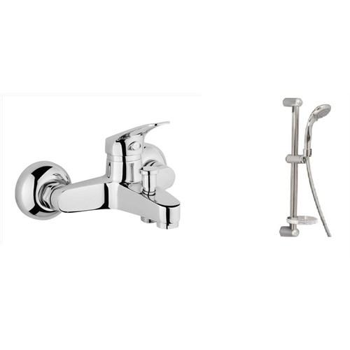 Alper Madrid Banyo Bataryası + Sürügülü Duş Seti