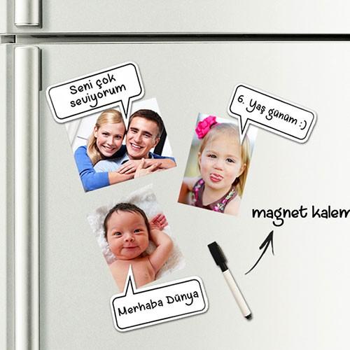 Getbox Manyetik Konuşma Baloncukları - Buble Magnet