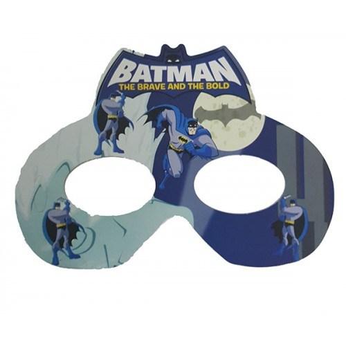Parti Şöleni Batman Maske 6 Adet