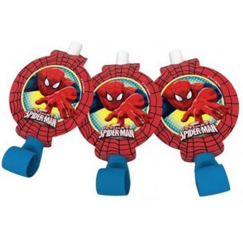 Parti Şöleni Spiderman Düdük