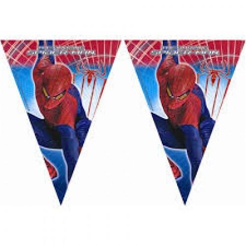 Parti Şöleni Spiderman Bayrak