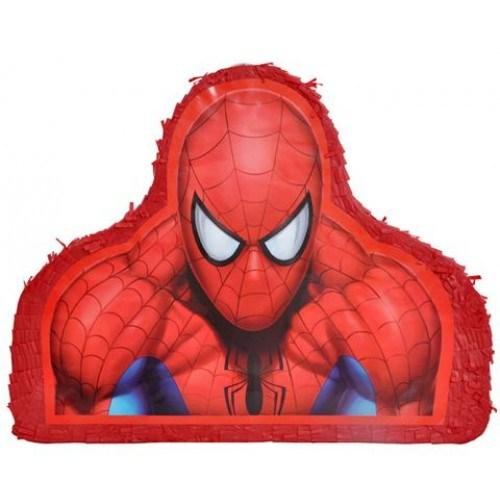 Parti Şöleni Spiderman Pinyata + Sopası 1 Adet