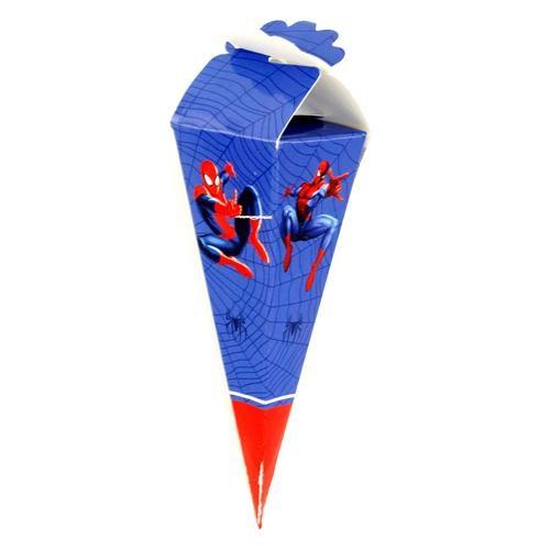 Parti Şöleni Spiderman Şeker Kulahı