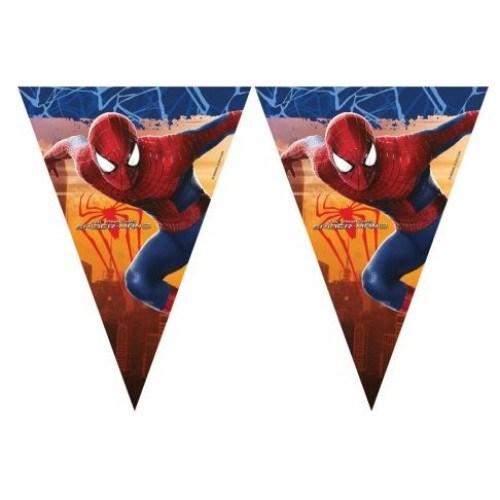 Parti Şöleni Spiderman Bayrak 1 Adet