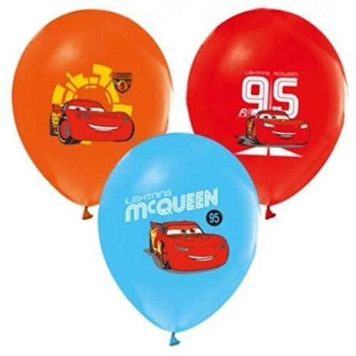 Parti Şöleni Cars Baskılı Balon 20 Adet