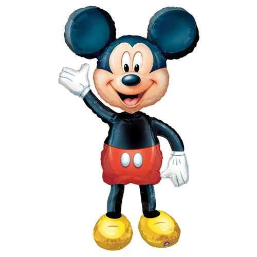 Parti Şöleni Mickey Mouse Airwalker Folyo Balon 1 Adet