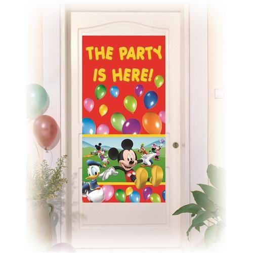 Parti Şöleni Mickey Mouse Kapı Banner 1 Adet