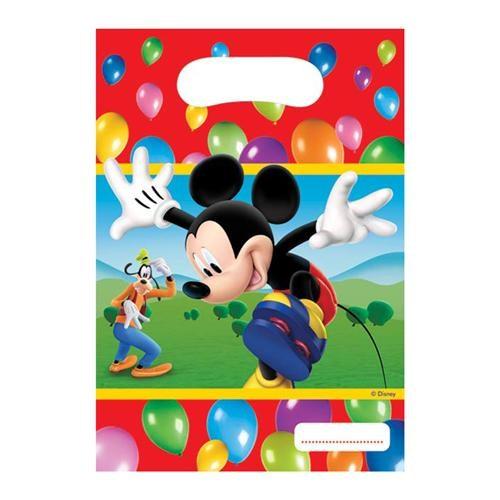 Parti Şöleni Mickey Mouse Çantası 6 Adet