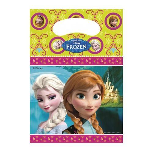 Parti Şöleni Frozen Parti Çantası 6 Adet