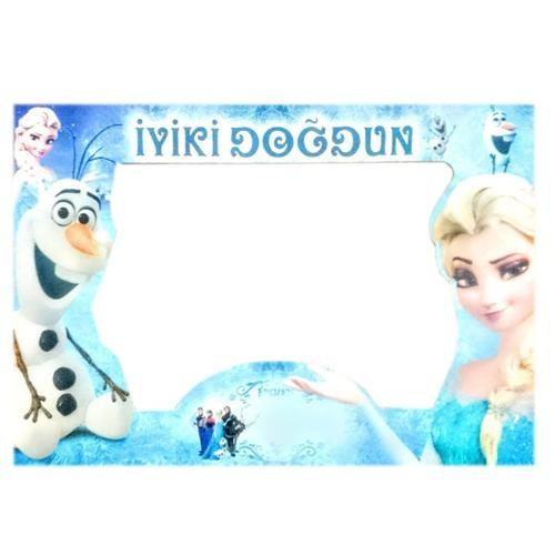 Parti Şöleni Frozen Çerçeve 1 Adet