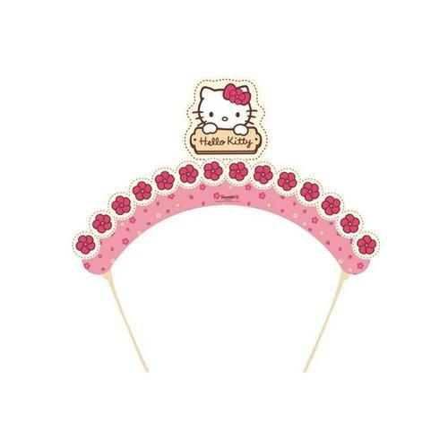 Parti Şöleni Hello Kitty Taç 6 Adet