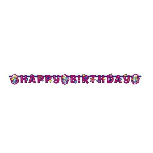 Parti Şöleni Şirine Happy Birthday Banner