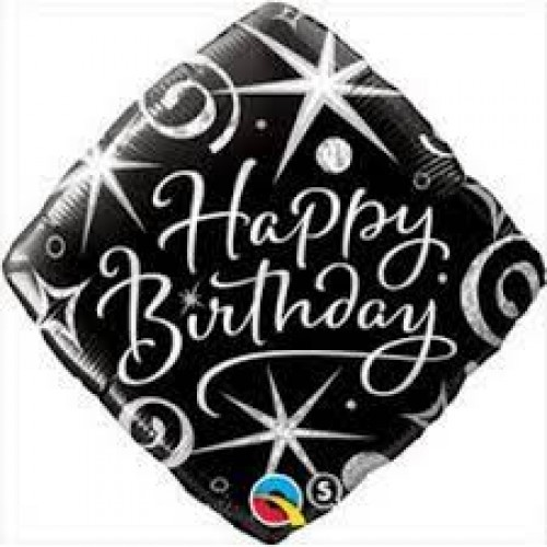 Parti Şöleni Yetişkni Happy Birthday Folyo Balon