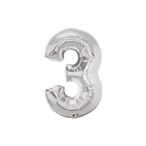 Parti Şöleni 3 Folyo Balon Metalik