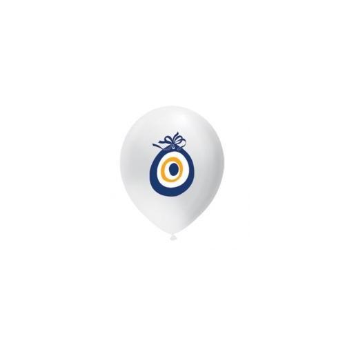 Parti Şöleni Nazar Boncuğu Baskılı Balon ( 20 Adet )