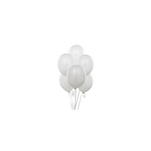 Parti Şöleni Beyaz Balon 20 Adet