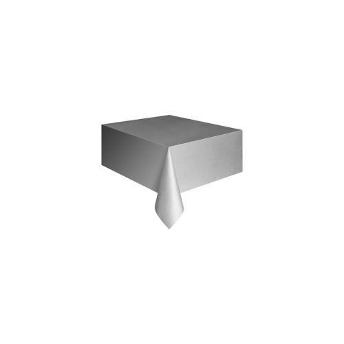 Parti Şöleni Gümüş Masa Örtüsü 1 Adet