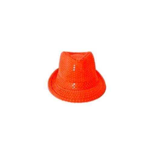 Parti Şöleni Turuncu Pullu Parti Şapka