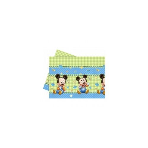 Parti Şöleni Baby Mickey Mouse Masa Örtüsü