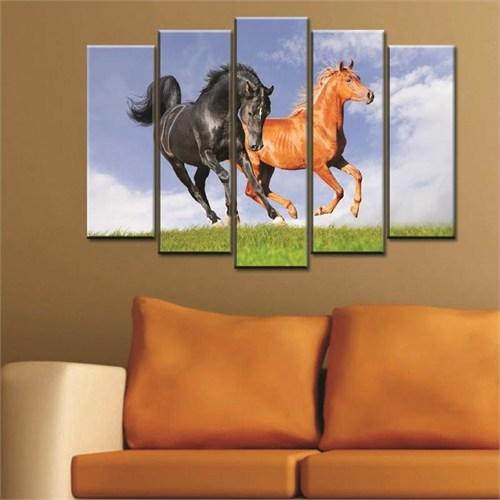 Canvastablom B230 Horses Parçalı Kanvas Tablo