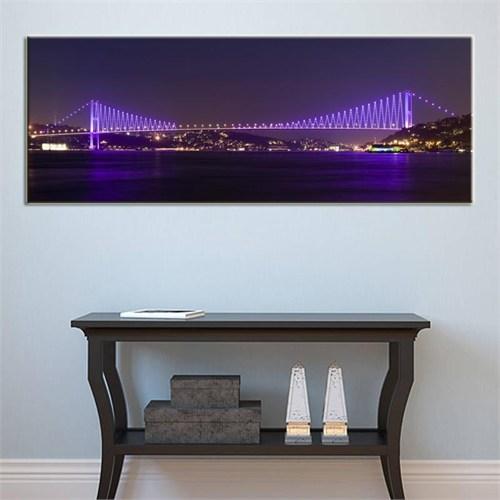 Canvastablom Pnr132 İstanbul Boğaziçi Köprüsü Panoramik Tablo