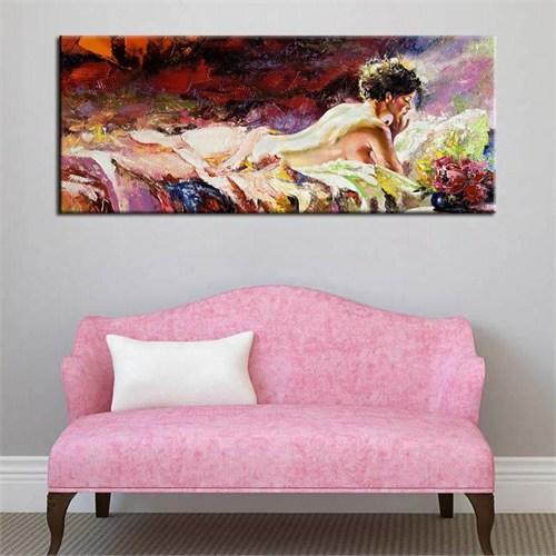 Canvastablom Pnr135 Naked Girl Dekoratif Kanvas Tablo