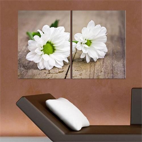 Canvastablom İ9 2 Parçalı Flowers Kanvas Tablo