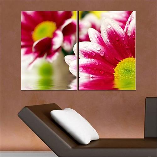 Canvastablom İ38 Flowers Parcalı Canvas Tablo