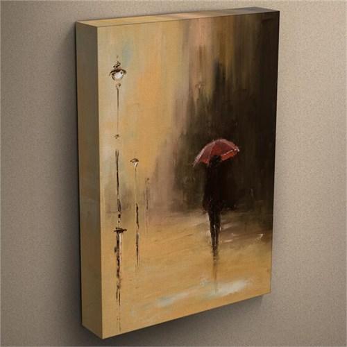 Canvastablom T17 Umbrella Oil Painting Kanvas Tablo