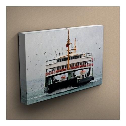 Canvastablom T181 İstanbul-Vapur Kanvas Tablo