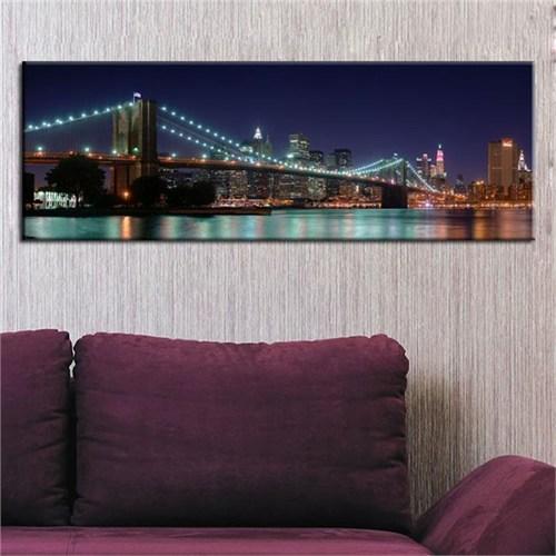 Canvastablom Pnr16 Brooklyn Köprüsü Panoramik Canvas Tablo
