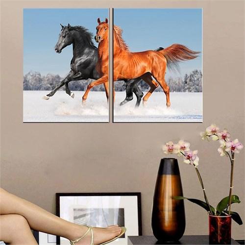 Canvastablom İ179 Horses Parçalı Tablo